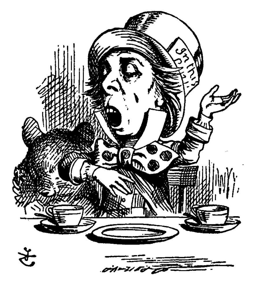 Alice in Wonderland, Lewis Carroll (2/3)