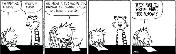 calvin-and-hobbes-write-what-you-know