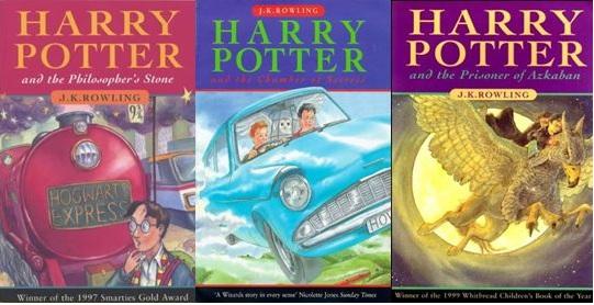 Harry Potter J K Rowling Part One J Carson Writes