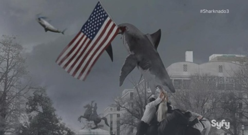 Sharknado 3 - Green Screen