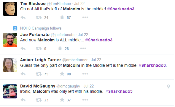 Sharknado 3 - Malcolm The Middle
